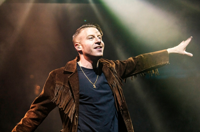 Macklemore & Ryan Lewis Perform At Manchester Arena